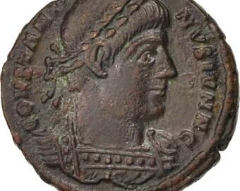 constantine ii centenionalis arles au(50-53) bronze ric #376 2.84
