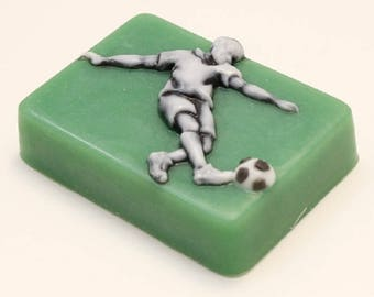 Soap mold, Icetray, Form for chocolate, Clean, Soccer, the World Cup, the Football player, sport