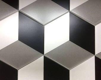 Tile style concrete Cube tiles
