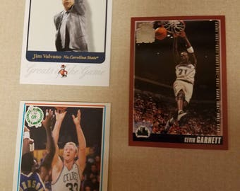 Three Basketball cards