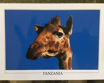 vintage post card from Tanzania ,