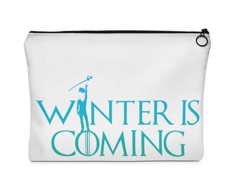 Winter Guard Is Coming - Boy Sabre - Carry All Pouch Two Sizes, Colorguard, Percussion, Winterguard