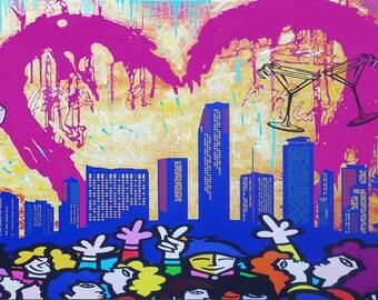 I Love Miami  Art by Jozza