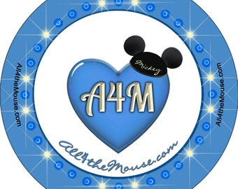 All 4 the Mouse Electrical Parada Buttons