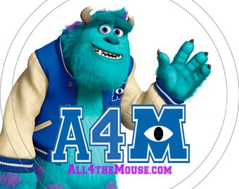 All 4 the Mouse Monsters University Buttons Volume 1