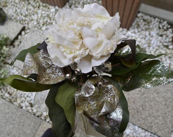 Artificial Flower (White)