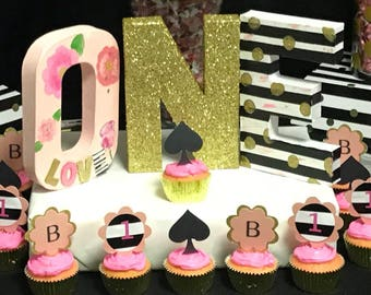 Kate Spade Personalized ONE LETTERS