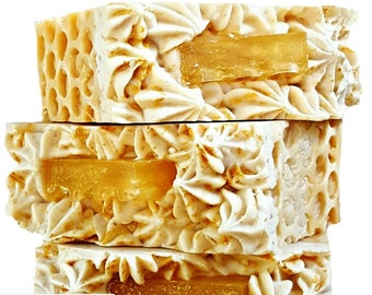 Oatmeal Milk and Honey Soap, Goat Milk Soap, Decorative Soap, Honey Soap, Soap Bar, Bath Soap, Hand Soap, Gifts for Girlfriend, Soap Gifts