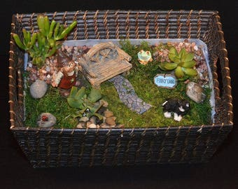 Miniature Gnome Garden
