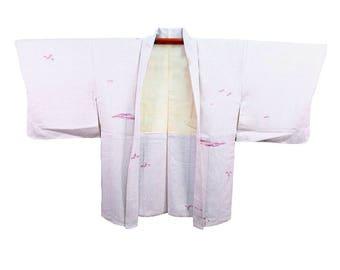 Silk Haori Kimono Jacket - No. 8