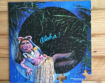 1977 Vintage Miss Piggy Aloha Puzzle