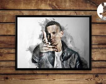 Eminem Print wall art home decor poster