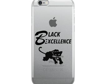Black Excellence Black Panther iPhone Case
