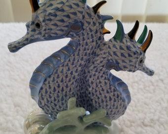 Herend # 5252 Seahorse