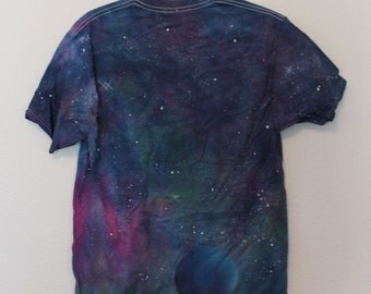 Medium Size Tie Dye Galaxy Shirt