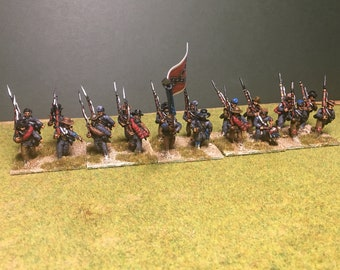 Painted 28mm American Civil War Confederates