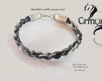 Bracelet Horse hair handmade