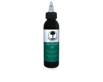100% all natural hair growth oil