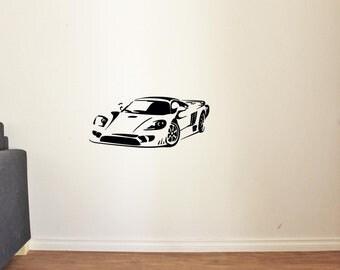 New Cool Car Sport Race Man Cave Garage Home Kids Room Wall Decals Vinyl Decor Stickers MK1364