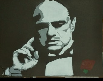 The Godfather painting