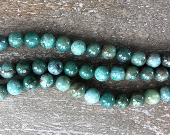 8mm African Jade 1 strand