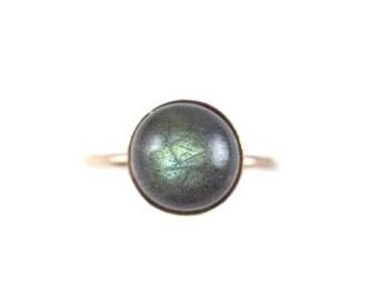 Labradorite Large Ring