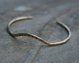 Arch Cuff, Cuff Bracelet, Simple Jewelry, Simple Cuff, Adjustable Bangle, ARCH