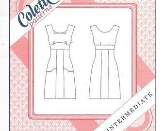 Colette 1006 - ROOIBOS DRESS - Sewing Pattern - Multi Sizes 0 to 18 - UNCUT
