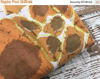 40% OFF- Retro Abstract Fabric-Reclaimed Bed Linens