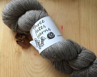 yakkety yak - aurai fingering weight merino yak nylon sock yarn, dyed to order