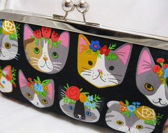 Coupon Organizer Cash Envelope System Funky Cats