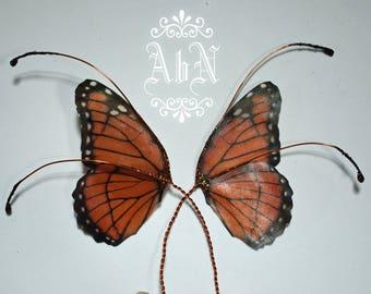 Fairy Wings - Monarch Butterfly wings MO2 -  For OOAK Art Dolls