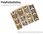 Block Print, Wood Block, Printing Stamps, Wood Stamp, Fabric Block, Flower Stamp, Pattern Block, Pottery Stamp, Indian Stamp, Leaves SALE