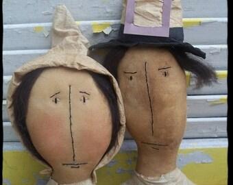 CustomerAppreciationSale Primitive Fall William and Mary Webster Pilgrim Set