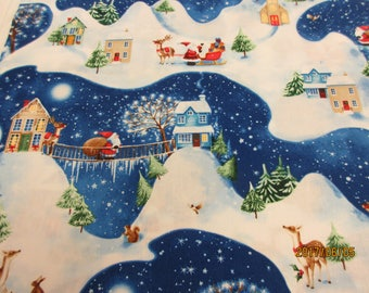 Christmas Village by P & B Textiles