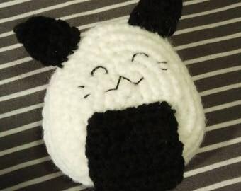 Crochet Happy Onigiri Sushi Cat