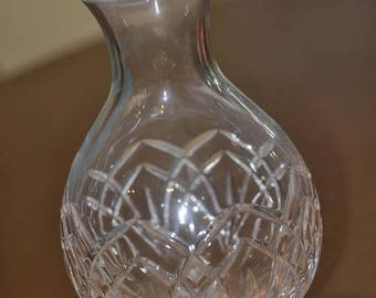 Flash Sale Vintage Cut Glass Crystal Vase