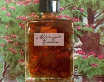Midnight Garden Natural Perfume Botanical Fragrance Artisanal Handmade Small Batch Made in Brooklyn, NY