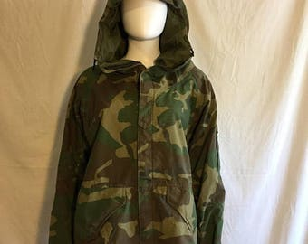 Closing Shop 40%off SALE Camoflage  camo jacket military grunge coat