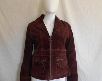 Closing Shop 40%off SALE SALE 90s Women's suede leather jacket, 90s Maxima Wilson's Leather