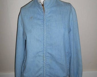 Closing Shop 40%off SALE Vintage 50s 60s 70s JANTZEN   jacket light blue