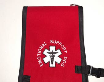 Small Or Extra Small Service Animal Dog Vest 2 Pockets