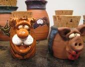 Reserved for Francine * tiger   jar ........