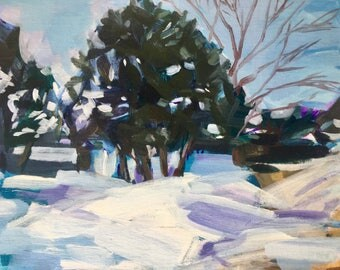 Winter Study West Bay