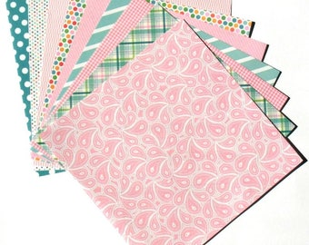 Bubblegum Pink - 6x6 Recollections Home Basics Paper Pack
