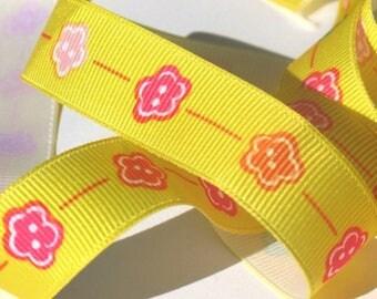 Lemonade - Buttercup Grosgrain Ribbon