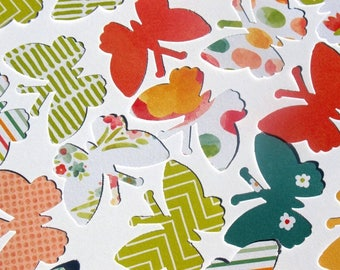 Color Crush - American Crafts Butterfly Die Cuts