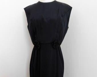 Vintage 60's Little Black Dress