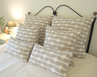Decadent Organic Cotton Pillow Covers, Various Sizes, Jersey Knit, Toss Cushions