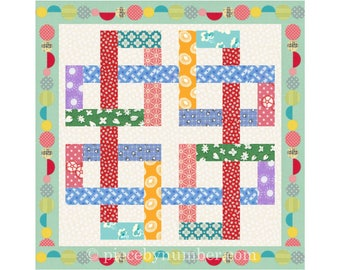 Zentricity rotary cut quilt block pattern, easy celtic knot quilt pattern, giant quilt block, medallion, rotary cut, jelly roll